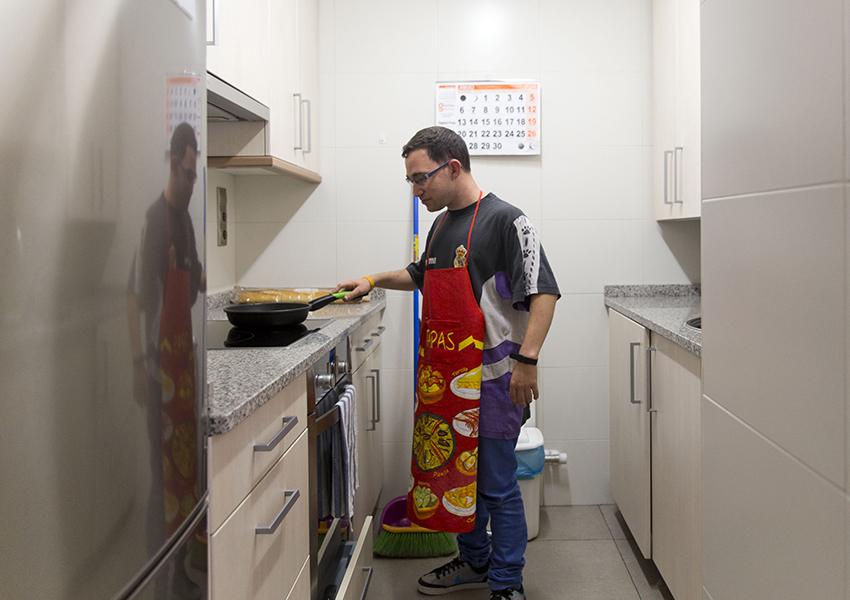 Valentia Proyecto Vida Independiente cocina