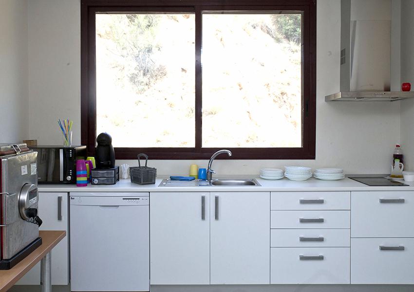 Valentia Fraga centro ocupacional bajo cinca cocina