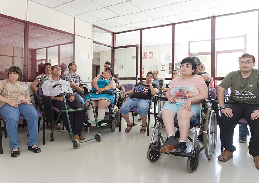 Valentia Fraga centro ocupacional bajo cinca