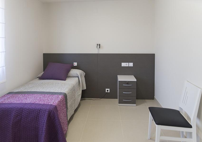 Proyecto Vida Independiente Fraga habitaciones