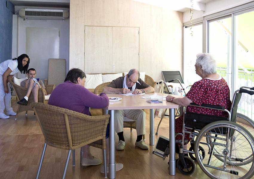 Barbastro Centro Joaquín Costa Valentia sala