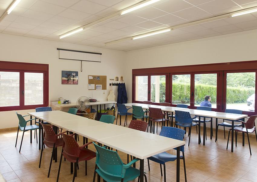 Boltaña Centro Ocupacional Valentia aula