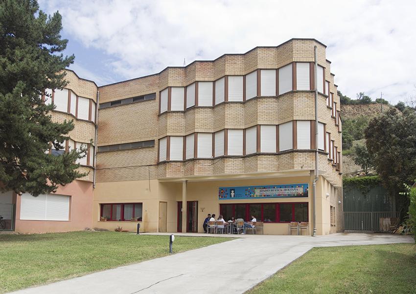 Boltaña Centro Ocupacional Valentia edificio