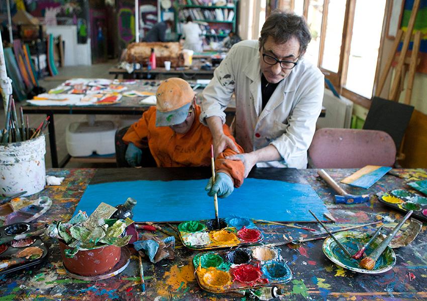 Valentia taller pintura