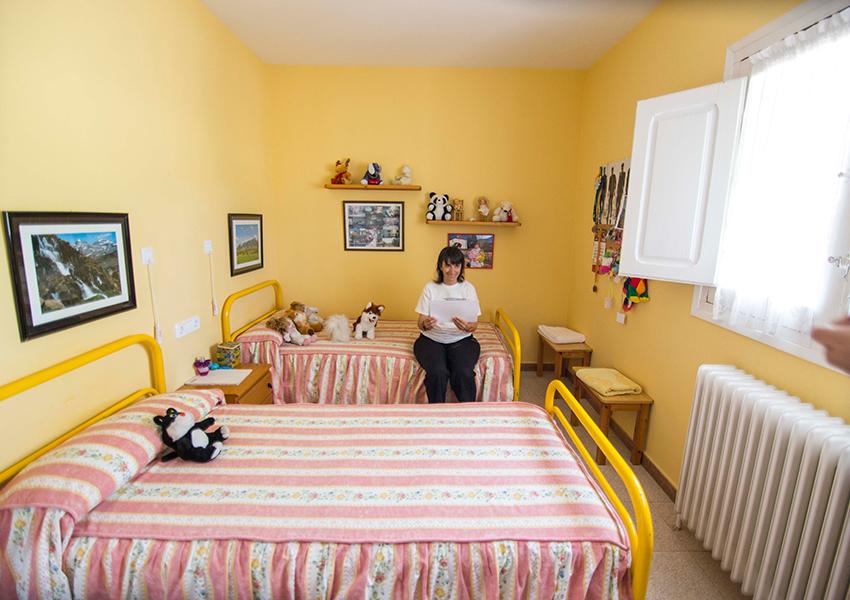Valentia Jaca Martillué Residencia Ignacio Claver habitación