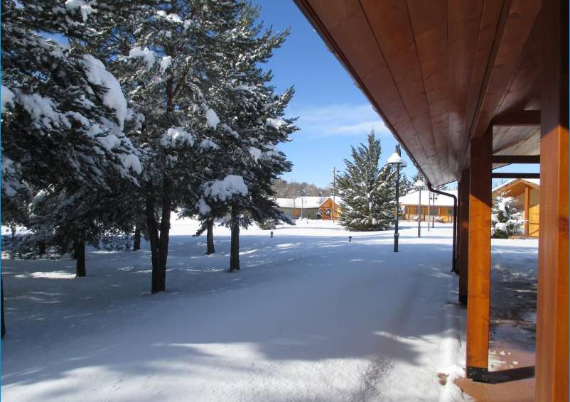 Valentia Jaca Martillué Residencia Ignacio Claver invierno