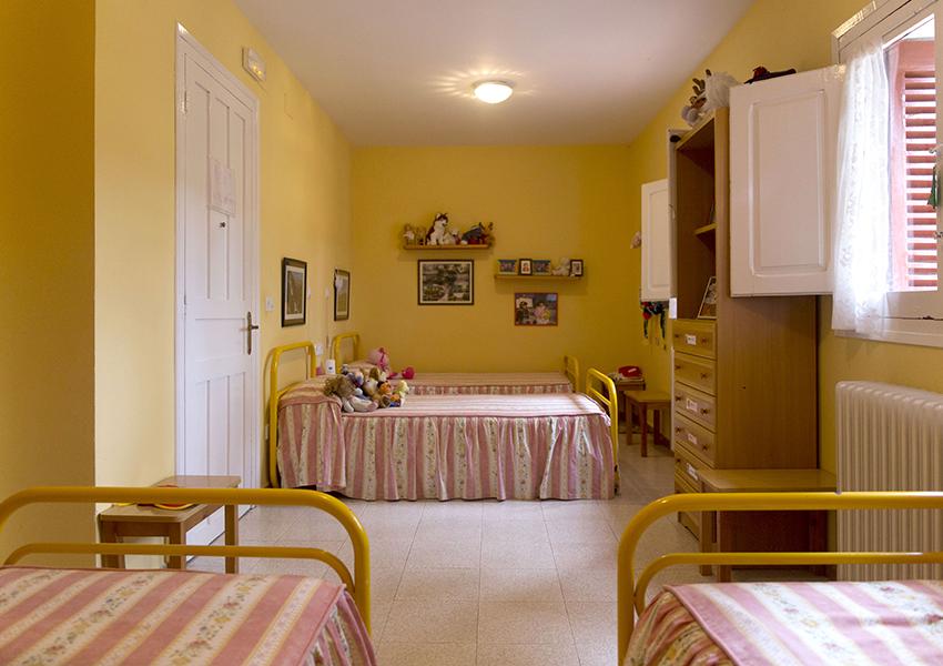 Valentia Jaca Martillué Residencia Ignacio Claver habitaciones