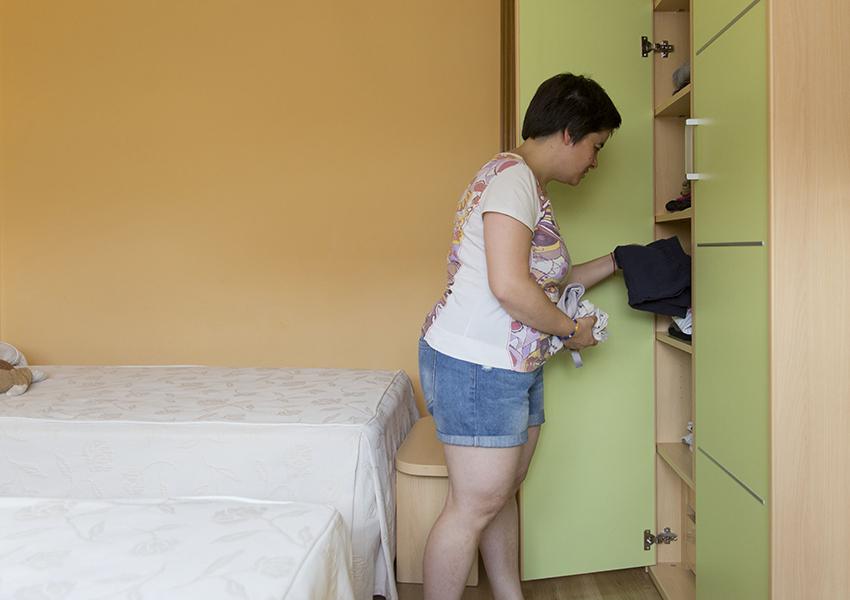 Monzón Viviendas Tuteladas Las Casitas habitación