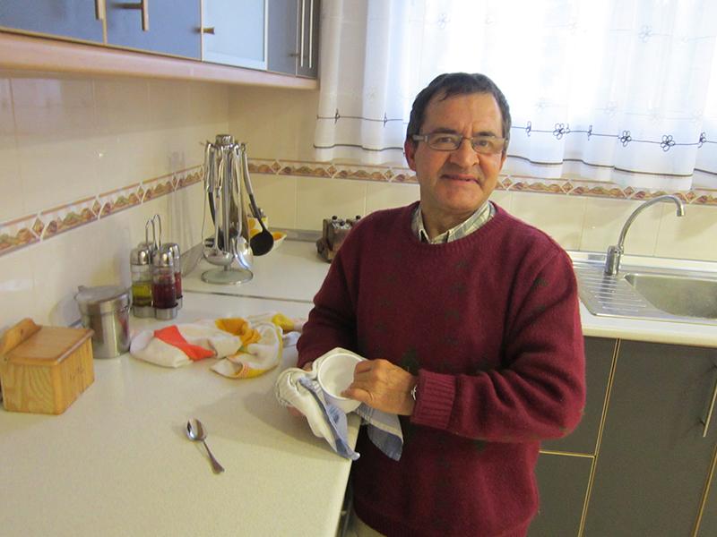 Monzón Viviendas Tuteladas Las Casitas cocina