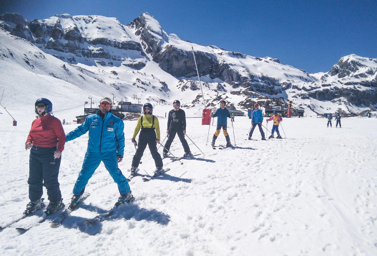 Esquí Valentia Candanchú deporte adaptado