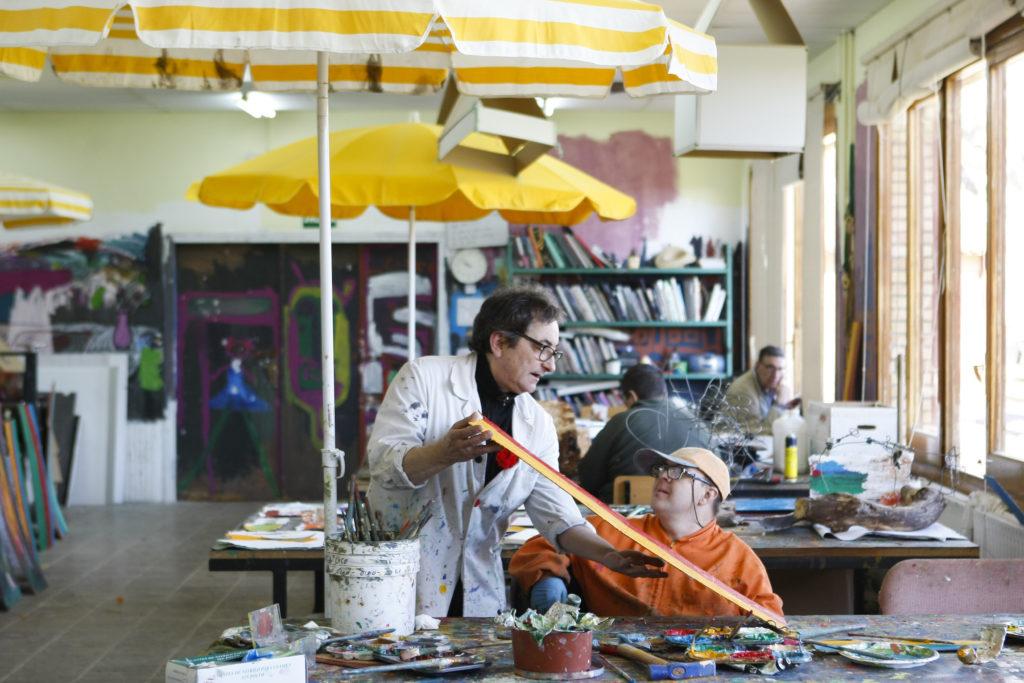 Voluntariado en el Taller de Arte
